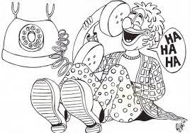 Kleurplaten Clown Jopie En Tante Angelique Print En Kleur