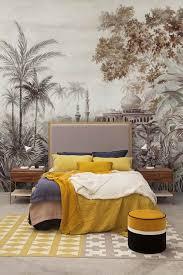 chinoiserie wallpaper mural taj mahal