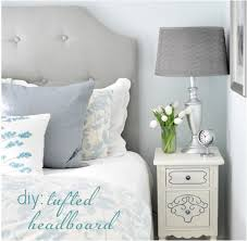 diy simple tufted headboard