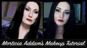 morticia addams makeup tutorial you