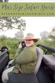 plus size safari guide a south african