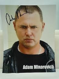 SIGNED ADAM MINAROVICH 8x10h Ed Peletier Walking Dead Autograph ...