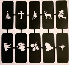 nail stencils for airbrush