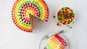 skittles rainbow cake recipe