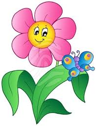 clipart of flowers and erflies