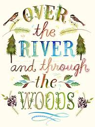 Wheatpaste Over The River And Through The Woods By Katie Daisy Wall Decal Wayfair