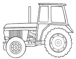 Kleurplaat Tractor 01 Topkleurplaat Nl