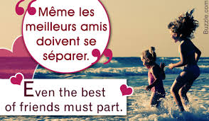 really famous french quotes about family and friendship