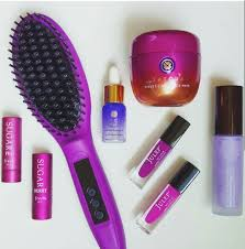 purple everything from qvc christina