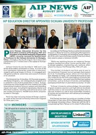 aip august 2019 enewsletter by