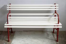 art deco small garden bench 1920s bei