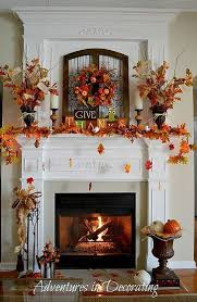 our 2016 fall mantel autumncolors