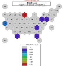 LUELL Last Name Statistics by MyNameStats.com