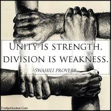 best quotes and sayings about unity