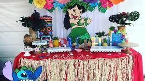 Fiesta Infantil Con Tema De Lilo Stich Ideas Para Las Fiestas