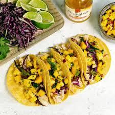 Grilled Fish Tacos with Mango Salsa ...