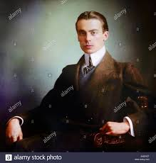 Colour photograph of Felix Yusupov. Prince Felix Felixovich Yusupov, Count  Sumarokov-Elston (1887-1967) a Russian aristocrat, prince and count from  the Yusupov family. He is best known for his participation in the  assassination