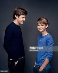 Jurassic World' actors Ty Simpkins and Nick Robinson are photographed for  Wonderwall on June 5 2015 in Bur… | Nick robinson, Nick robinson jurassic  world, Robinson