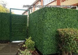 Artificial Hedge Privacy Screen Artificial Plants Privacy Screen