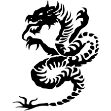 Fire Breathing Dragon Decal 029