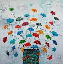ציור פרחים | Riva Paintings