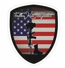 Fallen Soldier Ford F 150 Super Duty Window Sticker Decal Army Marine Navy Ebay