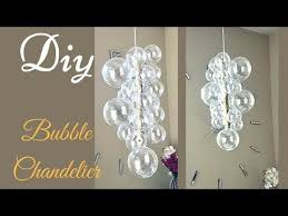 diy glam bubble chandelier that is