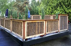 Boedika 90182 Sustainable Rolled Black Bamboo Fence 4 Feet By 8 Feet By 875 Inch Tools Home Improvement Amazon Canada