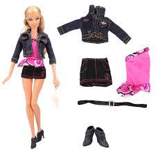 Thời Trang Handmade Phụ Kiện Búp Bê Đồ Chơi Trẻ Em Cho Bé Gái Búp Bê Quần  Áo Phụ Kiện Giày Cho Búp Bê Barbie Đầm Trò Chơi DIY Sinh Nhật|