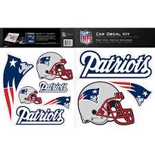 Skinit New England Patriots Car Decal Kit Walmart Com Walmart Com
