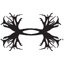 Under Armour 15 Ua Antler Logo Auto Body Decal Black Hunting Decal Silhouette Cameo Vinyl Vinyl Decals