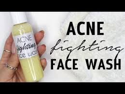 homemade acne fighting face wash Ι