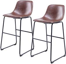 5rcom centiar pu leather bar stools