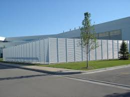 Galvanized Steel Louver Fence Ametco Manufacturing