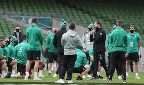 Ireland team vs France in Six Nations ...