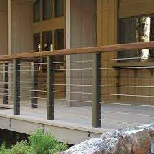Deck Cable Railing Design Ideas Pictures Remodel And Decor Balcony Railing Design Patio Railing Deck Railing Design