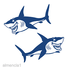 Business Industrial Other Printing Graphic Arts Great Shark Jaws Jdm Funny Vinyl Decal Sticker Car Window Bumper Laptop Boat 12 Studio In Fine Fr