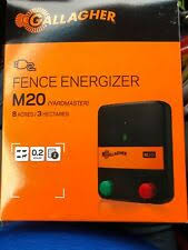 Gallagher Fence Master Junior 8 Acre Electric Fence Energizer 3a2034 For Sale Online Ebay