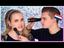 fiance does my makeup in dutch