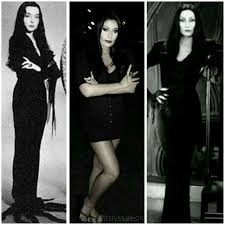 morticia addams makeup by