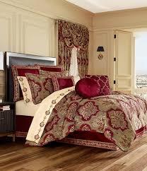 red comforters down comforters
