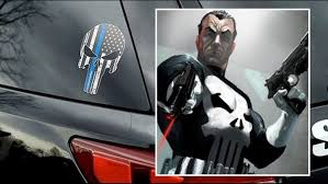 Punisher Decal Appears On Police Cars Drawing Complaints Cbs8 Com