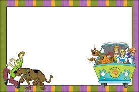 Imprimibles De Scooby Doo Ideas Y Material Gratis Para Fiestas