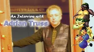 An interview With Voice & Improv Actor ADRIAN TRUSS!