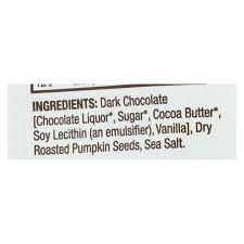 bark thins dark chocolate pumpkin seed