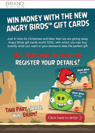 angry birds tm gift cards google drive