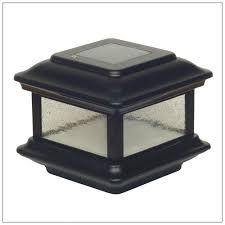 Solar Post Caps 2x2 To 2 5x2 5 Black Set Of 2 Classy Caps Imperial