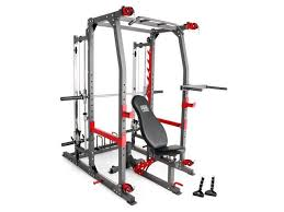 Marcy Pro Smith Machine Weight Bench Home Gym Total Body Workout Training  System - Newegg.com