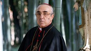 Cardinal Voiello played by Silvio Orlando on The New Pope ...