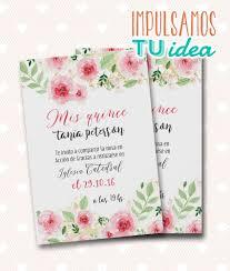 Tarjeta De 15 Invitacion De Quince Con Flores Para Imprimir